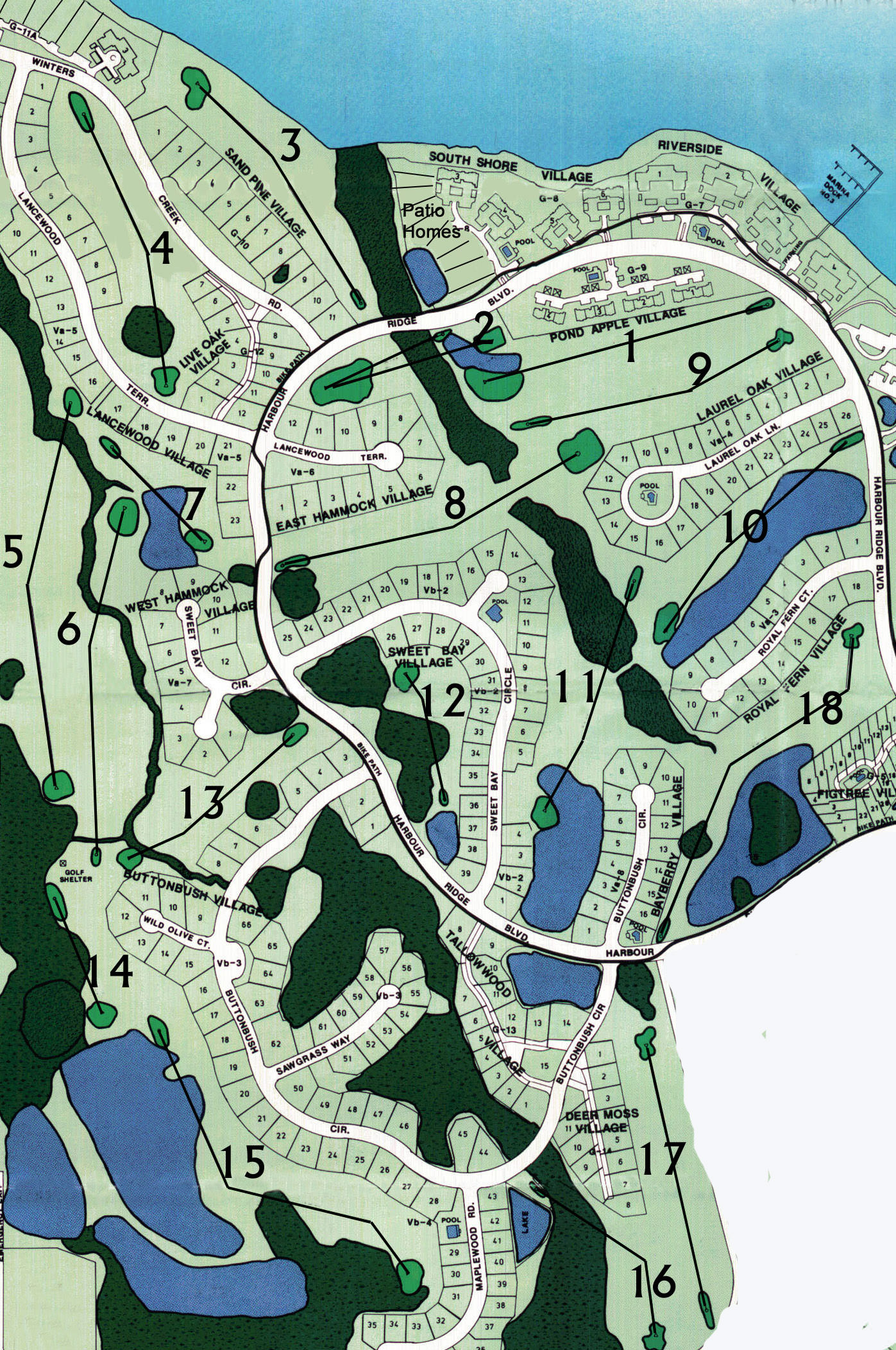 21_River Ridge GOLF_Plot_Plan