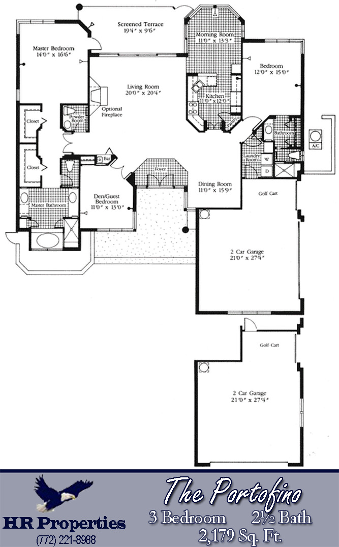 portofino-floor-plan-harbour-ridge-country-club